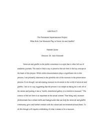 baylor honors thesis formatting